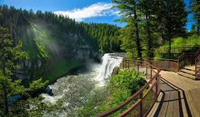 Idaho Falls Map Mesa Falls Visit Idaho