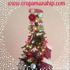 monogram tree topper november 2014 crapsmanship