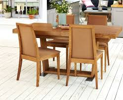 Oak Extending Dining Table And 4 Chairs Dining Chairs Dark Oak 6 Piece Wood Dining Set Solid Dark Oak