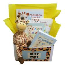book gift baskets baby gift baskets books