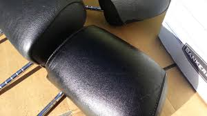 Spray Paint For Leather Hd My E36 Bmw 325ic Project Headrest Leather Renew Using Dupli