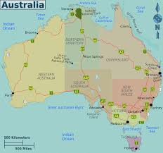 Map Australia Australia Regions Map U2022 Mapsof Net