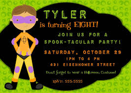 halloween birthday party invite afoodaffair me