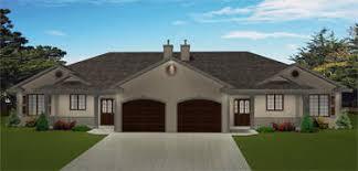 duplex plans with garage in middle duplex plans floor plans multi family plans edesignsplans ca