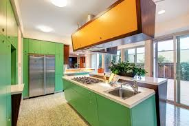 Mid Century Modern Kitchen by Home Accecories One More View Of This Mid Century Modern Styled