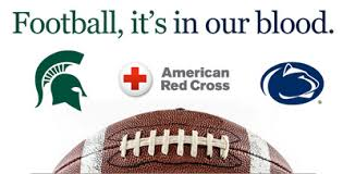 Challenge Blood Penn State Michigan State To Compete In Annual Blood Drive