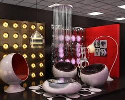 retro futuristic interior alien futuristic pinterest