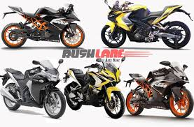 honda cbr baik bajaj pulsar rs 200 comparison with rc 200 cbr 250r