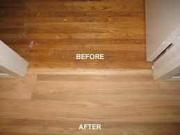 Refinished Hardwood Floors Before And After Ireland Decorators Floor Refinishing
