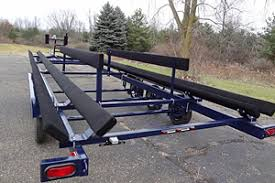 boat trailer guides with lights pontoon trailer guides page 1 iboats boating forums 655774