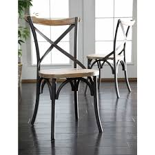 Solid Wood Dining Room Chairs by Amazon Com We Furniture Industrial Reclaimed Solid Wood Dining