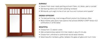 Andersen A Series Patio Door Andersen A Series Sliding Patio Door Andersen Windows Denver