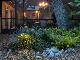 lighting outdoor landscapes with landscape lighting for trees and
