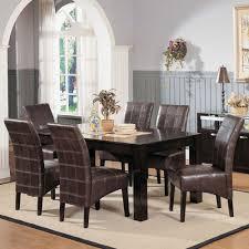acme furniture roxana 7pc dining set in espresso local furniture