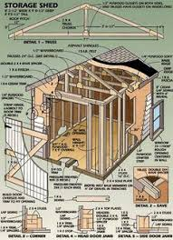 Potting Shed Plans 8x10 Lean To Shed Plans 8x10 Shed Plans Pinterest