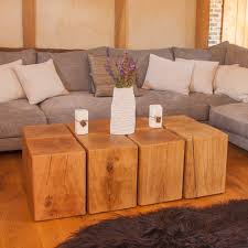Solid Oak Coffee Table Puzzle Oak Coffee Table