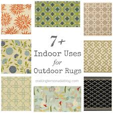 Indoor Outdoor Rug 7 Indoor Uses For Outdoor Rugs Lemonade