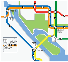 Dc Metro Map Silver Line by Planitmetro Strategies