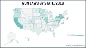Gun Laws By State Map by The States Where Gun Crime Has Gotten Worse Since The 1990s