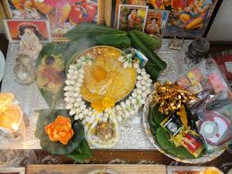 ugadi decorations at home food music and beyond sri swarna gowri vratha vidhana