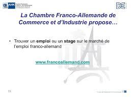 chambre de commerce et d industrie franco allemande les relations économiques franco allemandes ppt télécharger