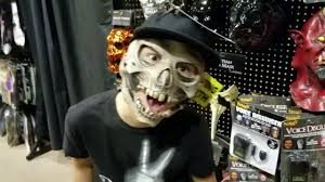 masks compilation at spirit halloween store trying out the new