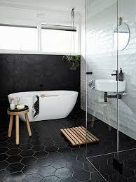 bathroom ideas black and white best black bathrooms ideas on black tiles black design