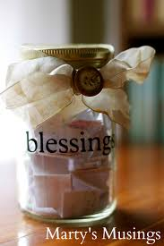 thanksgiving messages for family family blessing jar