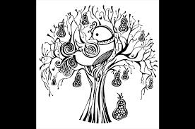 partridge in a pear tree siobhan milne aka the crafty prawn