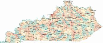 Map Of Cities In Tennessee by Map Of Ky Cities Map Holiday Travel Holidaymapq Com
