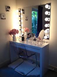 Vanity Set With Lights For Bedroom Beautiful Bedroom Vanity Set Collection With Enchanting Lights