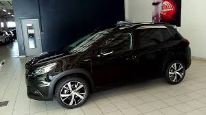 peugeot 2008 interior 2017 peugeot 2008 gt line youtube