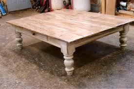 chunky farmhouse table legs coffee table chunky farmhouse coffeeable plans legs for diy
