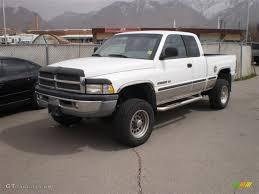 98 2500 dodge ram 1998 bright white dodge ram 2500 laramie extended cab 4x4
