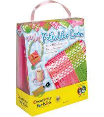creativity for kids lots o u0027 loops potholder loom kit joann
