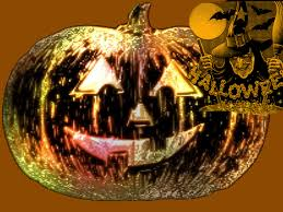 free 3d halloween wallpaper 3d halloween pumpkin 712012 gif