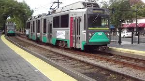 Boston T Map Green Line by Light Rail Green Line In Boston Youtube