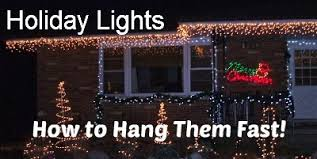 best way to hang christmas lights hanging christmas lights rustic refined