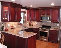 Kitchen Backsplash Cherry Cabinets by Cherry Cabinet Kitchen Designs 1000 Ideas About Cherry Kitchen