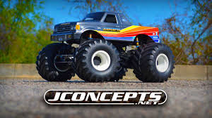 monster jam rc truck bodies 1989 ford f 250 monster truck body jconcepts