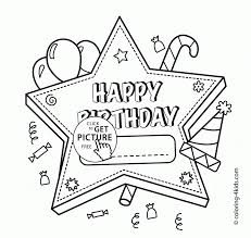 93 coloring pages happy birthday cards birthday coloring