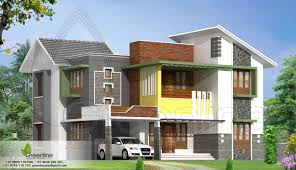 indian house design double floor buildings designs4 home