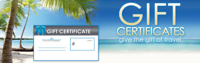 travel gift certificates selloffvacations