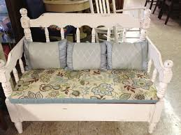 Bed Frame Bench Bench Made From Bed Frame S Attic