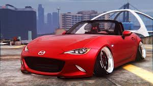 mazda miata stance 2016 mazda mx5 stance add on replace gta5 mods com