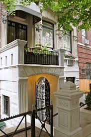 new york city beautiful upper east side townhouse in the autumn