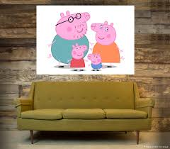 peppa pig wall art poster a1 a5 sizes available ebay