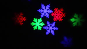 Light Flurries Snowflake Projector by Rgb Rotating Snowflake Led Light Projector Xmas Holiday Light For