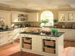 white wooden kitchen islands with black top added by white wooden