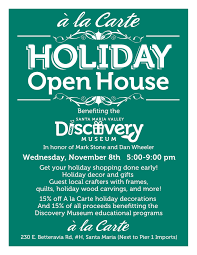 santa maria alliance ho ho ho shop for the holidays and support the discovery museum